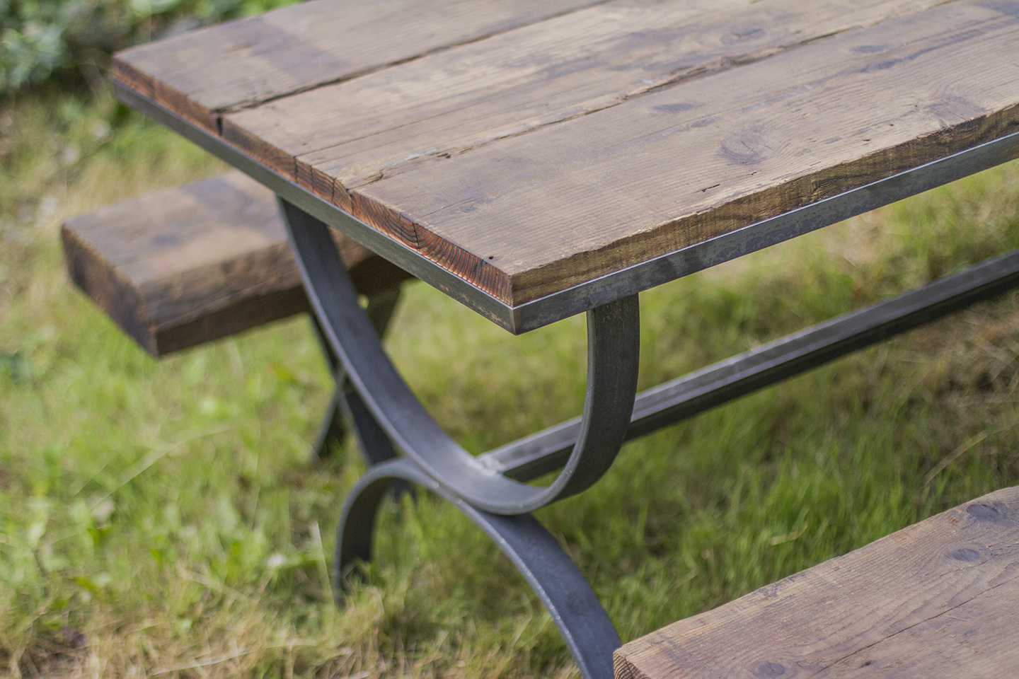 Felix Madrid Of Quiver Machine Works And I Were Approached To Design And  Build A Heavy Duty Outdoor Picnic Table. A Lovely Couple From The Denver  Area Just ...